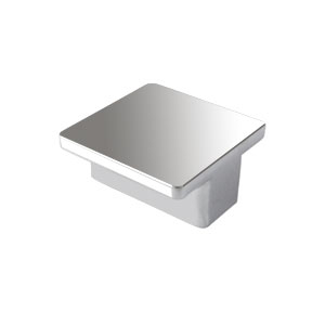 square handle ext.chrome furniture cabinet modern design n113