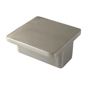 brush nickel square handle kitchen furniture handle 809416