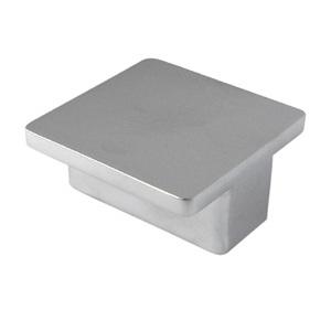 matt chrome square handle kitchen furniture handle 809417