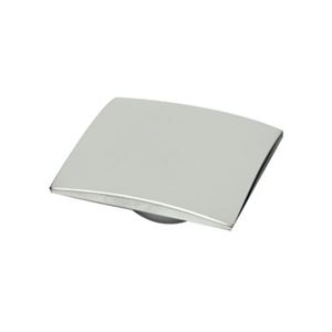 bouton chrome mat porte meuble bain n595