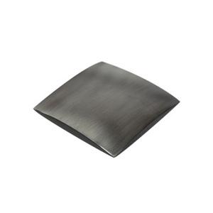 tirador pomo de oxido ceniza herrajes mueble baño n602