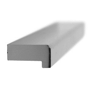 tirador asa de mueble aluminio acabado cromo brillo puerta armario cocina bano 850401