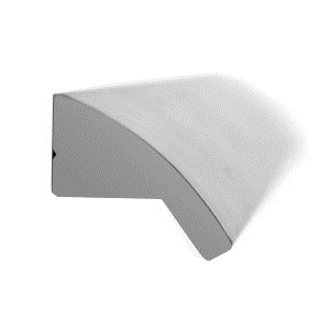 tirador asa de mueble aluminio acabado cromo brillo puerta armario cocina bano 851201