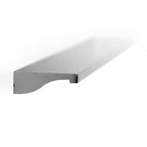 tirador asa de mueble aluminio acabado cromo mate puerta armario cocina bano 852014