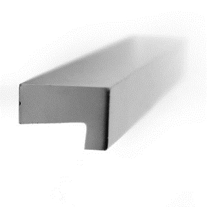 tirador asa aluminio acabado anodizado herrajes mueble cocina n18