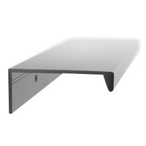 tirador asa aluminio acabado anodizado herrajes mueble cocina n29