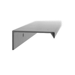 tirador asa aluminio acabado anodizado herrajes mueble cocina n33