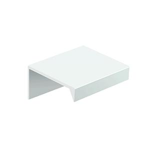 tirador asa mueble aluminio 32mm ext.50mm blanco mate poignee meuble aluminium 32mm ext.50mm blanc mat