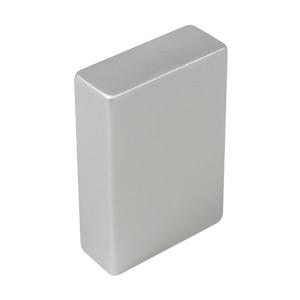 tirador pomo de mueble aluminio anodizado mate puerta armario cocina bano 860214