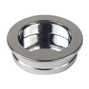 tirador embutir acabado cromo brillo puerta armario cocina bano cajon 863501
