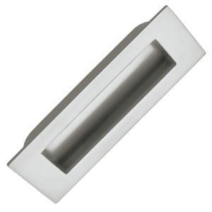 tirador embutir acabado cromo mate puerta armario cajon cocina 866217