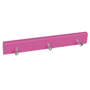 percha madera pomos base rosa 9007mg