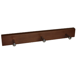 percha madera pomos base madera 9007we