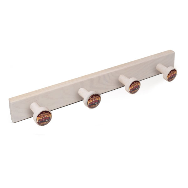 hanger knobs white washed wood knobs garage pickup furniture hook retro vintage design tienda precio venta online 9032db