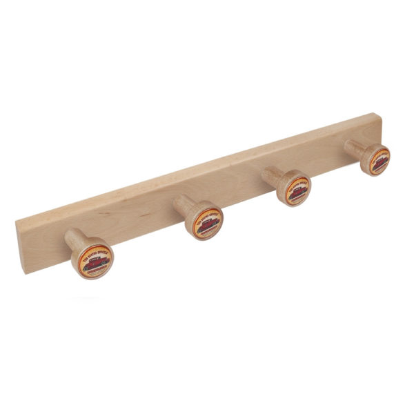 percha pomos madera haya natural pomos garage car perchero diseno retro mueble vintage 9035hn
