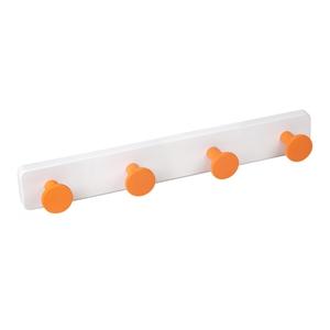 percha pared pomos abs naranja base abs blanco directo ap1391