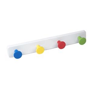 percha pared pomos abs colores base abs blanco directo ap1396