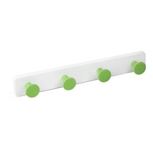 percha pared pomos abs verde base abs blanco directo ap1397