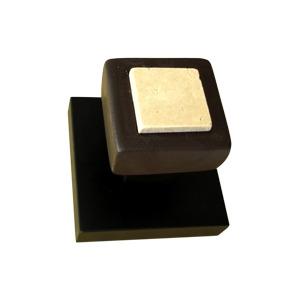 perchas pared individual madera wengue ceramica marmol toalla bano 225 917crw