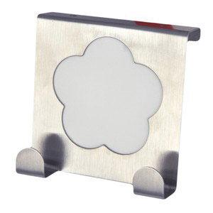 perchas sobre puerta cocina metacrilato blanco gancho alza panos 939bl