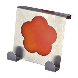 perchas sobre puerta cocina metacrilato naranja gancho alza panos 939na