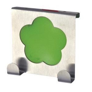 perchas sobre puerta cocina metacrilato verde gancho alza panos 939ve