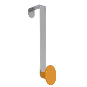 gancho puerta con pomo abs naranja perchero colgador n241