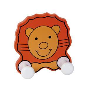 wooden hanger lion 944le