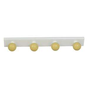 perchas percheros base blanca con bolas beige habitacion bebes 964be