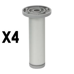 round legmat aluminum legs furniture accesories nB391