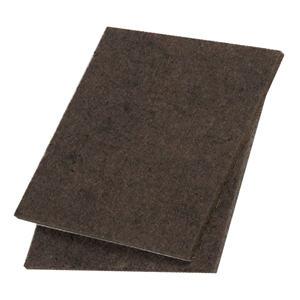 fieltros deslizantes para cortar marrón 85x100mm