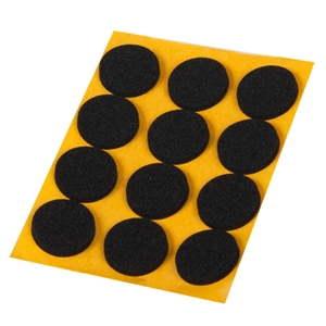 adhesive bumper 20mm anti-slip black foam rubber furniture