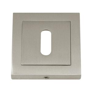 square keyhole 52x52mm nickel satin boc926c