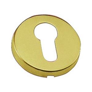 round keyhole 50mm gold finish bocsim
