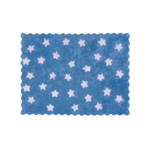 blue paradise child rug in washing machine washable cotton ed az image
