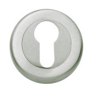 5mm round escutcheon keyhole door satin chrome finish manufactured in brass boc823cr