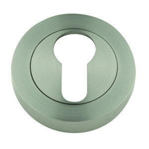 5mm round escutcheon keyhole door satin nickel finish manufactured in zinc alloy boc906