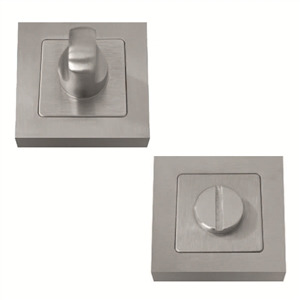 paire de rosaces a condamnation carrees de 52mm inox muinoxc