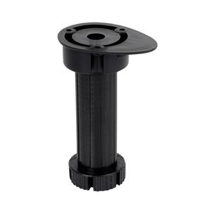 kit 4 patas negras cocina de atornillar regulables 13 19mm para armario encimera ap1642