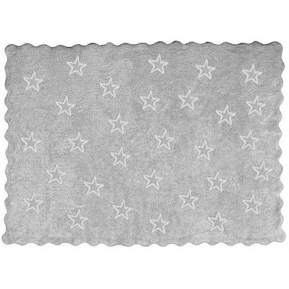 alfombra infantil paris gris lavable en lavadora algodon par gr imagen