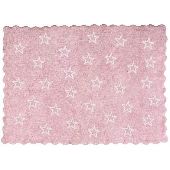 alfombra infantil paris rosa lavable en lavadora algodon par rs imagen