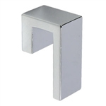 bouton chrome porte meuble bain n549