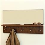 walnut mirror shelf h001n