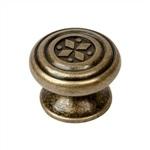 antique bronze furniture knob 09306