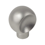 bouton chrome porte meuble bain n569