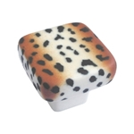 cheetah matt porcelain hand painted 136gu