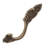 handle antique brass classic furniture drawer ap113