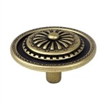 antique bronze furniture knob 44mm 209818