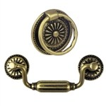 antique bronze furniture handle 209418