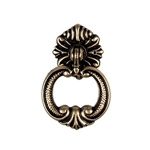 round pull antique brass furniture handle n7